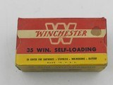 Collectible Ammo: Winchester .35 Winchester Self-Loading, 180 grain Soft Point, WSL, Catalog No. K3521C - 6 of 12