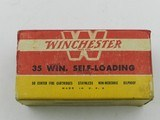 Collectible Ammo: Winchester .35 Winchester Self-Loading, 180 grain Soft Point, WSL, Catalog No. K3521C - 8 of 12