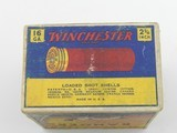 Collectible Ammo: One Full Vintage Box of Winchester Ranger 16 Gauge Shotshells in the Pointer Box. 6473 - 7 of 12