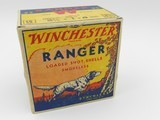 Collectible Ammo: One Full Vintage Box of Winchester Ranger 16 Gauge Shotshells in the Pointer Box. 6473 - 1 of 12