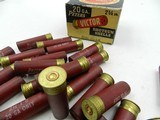 Collectible Ammo: 8 Boxes of Peters Shotshells 12, 20 Gauge Victor Target, Victor Fiels, Peters Target, Peters High Velocity (6807) - 13 of 19