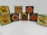 Collectible Ammo: 8 Boxes of Peters Shotshells 12, 20 Gauge Victor Target, Victor Fiels, Peters Target, Peters High Velocity (6807) - 1 of 19
