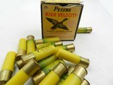 Collectible Ammo: 8 Boxes of Peters Shotshells 12, 20 Gauge Victor Target, Victor Fiels, Peters Target, Peters High Velocity (6807) - 17 of 19