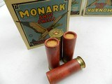 Collectible Ammo: Four U.S. Property Marked Boxes of Federal Monark, 12 Gauge, T121, Mallard Box, Excellent 6814 - 3 of 12