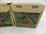 Collectible Ammo: Four U.S. Property Marked Boxes of Federal Monark, 12 Gauge, T121, Mallard Box, Excellent 6814 - 11 of 12