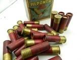 Collectible Ammo: Three Boxes of Federal Hi-Power 16 Gauge Shotshells in the Mallard Box - 9 of 12