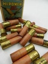 Collectible Ammo: Three Boxes of Federal Hi-Power 16 Gauge Shotshells in the Mallard Box - 11 of 12