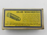 Collectible Ammo: Western .44-40 Winchester 200 grain Soft Point Bullet, Bullseye Box, Catalog No. 4440 - 5 of 9