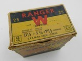 Collectible Ammo: One Vintage Box of Winchester Ranger 12 Gauge 2-5/8 inch Shotshells in the Pointer Box G7871/2C - 7 of 11