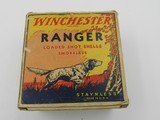 Collectible Ammo: One Vintage Box of Winchester Ranger 12 Gauge 2-5/8 inch Shotshells in the Pointer Box G7871/2C - 8 of 11