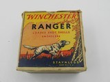 Collectible Ammo: One Vintage Box of Winchester Ranger 12 Gauge 2-5/8 inch Shotshells in the Pointer Box G7871/2C - 1 of 11