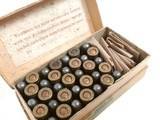 Collectible Ammo: Partial Box Winchester .32 Automatic Colt Cartridges Metal Patched Bullets Smokeless Powder Center Fire - 8 of 10