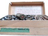 Collectible Ammo: Partial Box Winchester .32 Automatic Colt Cartridges Metal Patched Bullets Smokeless Powder Center Fire - 10 of 10