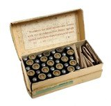 Collectible Ammo: Partial Box Winchester .32 Automatic Colt Cartridges Metal Patched Bullets Smokeless Powder Center Fire - 2 of 10