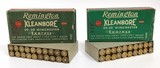 Collectible Ammo Lot of 2: Full Box Remington 30-30 Winchester Express KleanBore 150 Grain & 170 Grain Center Fire Smokeless Cartridges - 1 of 8