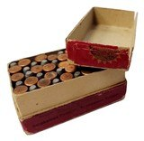 Collectible Ammo: Full Box Winchester Repeating Arms Co. .22 W. R. F. Caliber Smokeless Cartridges - 13 of 13