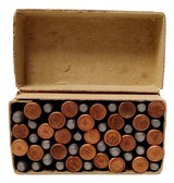 Collectible Ammo: Full Box Winchester Repeating Arms Co. .22 W. R. F. Caliber Smokeless Cartridges - 12 of 13