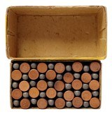 Collectible Ammo: Full Box Winchester Repeating Arms Co. Smokeless Rifle Cartridges .22 Cal Short - 8 of 9