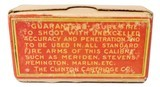 Collectible Ammo: Sealed Box of The Clinton Cartridge Co. Lesmok Powder Cartridges .22 Short Rim Fire - 50 Cartridges - 8 of 8