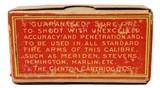 Collectible Ammo: Full Box of The Clinton Cartridge Co. Lesmok Powder Cartridges .22 Short Rim Fire - 50 Cartridges - 9 of 9