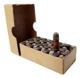 Collectible Ammo: Full Box of The Clinton Cartridge Co. Lesmok Powder Cartridges .22 Short Rim Fire - 50 Cartridges - 3 of 9