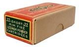 Collectible Ammo: Full Box of The Clinton Cartridge Co. Lesmok Powder Cartridges .22 Short Rim Fire - 50 Cartridges - 6 of 9