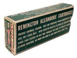 Collectible Ammo: Full Dog Bone Pattern Box of Remington UMC KleanBore .410 SL 200 Grains Soft Point Bullet for Winchester Rifle Model 1910 No. R488 - 4 of 4