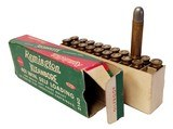 Collectible Ammo: Full Box Remington Kleanbore 401 Win. Self Loading 200 Grain Soft Point Bullet Catalog No. 2140 - 3 of 6