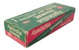 Collectible Ammo: Full Box Remington Kleanbore 401 Win. Self Loading 200 Grain Soft Point Bullet Catalog No. 2140 - 6 of 6