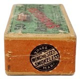Collectible Ammo: Full Box Winchester Repeating Arms Co. Smokeless Rifle Cartridges .22 Cal Short - 7 of 7