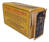 Collectible Ammo: Full Box Peters Rustless 30 Luger (7.65 m m.) 93 grain Metal Case Bullet Rustless No. 3052 - 4 of 7