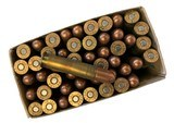 Collectible Ammo: Full Box 50 Rounds of Peters .351 Win SL For Winchester 1907 Self Loading Rifle - 8 of 8
