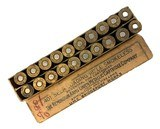 Collectible Ammo: Full Box 20 Rounds of Remington .401 Win Self Loading Rifle 200 Gn SP for Winchester 1910 Rifle - 1 of 7