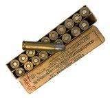 Collectible Ammo: Full Box 20 Rounds of Remington .401 Win Self Loading Rifle 200 Gn SP for Winchester 1910 Rifle - 7 of 7