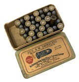 Collectible Ammo: Mixed Box 35 Rounds of Remington UMC .32 S&W Smokeless 88 Gn #167 - 1 of 7