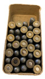 Collectible Ammo: Mixed Box 35 Rounds of Remington UMC .32 S&W Smokeless 88 Gn #167 - 7 of 7