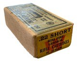Collectible Ammo: SEALED Box 50 Rounds of Winchester .22 Short Rimfire Lesmok K2254R - 7 of 7