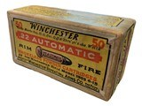 Collectible Ammo: SEALED Box 50 Rounds of Winchester .22 Automatic For Winchester 1903 - 1 of 6