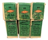 Collectible Ammo:Three Full Boxes of Western .30 Cal Government 1906 (.30-06) 180 GR Open Point Expanding Metal Patched Winchester Model 1903 - 5 of 9