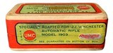 Collectible Ammo: Sealed Box .22 Automatic Rifle Winchester Model 1903 45 Grain Box of 50 Remington #31 - 3 of 6