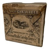 Collectible Ammo: Full Box 25 Cartridges American Metallic Cartridge Co .38 Short Rimfire 2 Shot (#9) Cartridges Pat. Sept 9th 1879 - 2 of 8