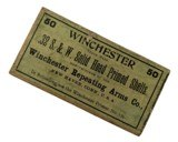 Collectible Ammo Full Box: 50 Factory Primed Cases of Winchester .32 S&W Solid Head Primed Shells