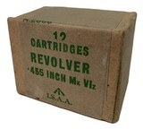 Collectible Ammo: Full Sealed Box of I.S.A.A. .455 Inch MK VIz Stamped 1948 - 6 of 6