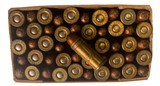 Collectible Ammo: Full Box 50 Rounds of Western .32 Short Colt Centerfire 80 Grain Bullet Western #K1323T - 2 of 7