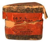 Collectible Ammo: Mixed Box 50 Rounds of Remington Arms-Union Metallic Cartridge .44 X.L. Shot Chilled Shot Rem #382 - 8 of 10