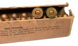 Collectible Ammo: Full Box 20 Frankford Arsenal Pistol Ball Cartridges, Cal. .45 For Automatic Pistol, Model of 1911. May 5 1916 - 8 of 9
