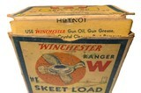"""Collectible Ammo: Partial Box of Winchester Ranger W 12 Ga 2 5/8"""" No 9 Chilled Shot Skeet Load Staynless - 10 of 10"""