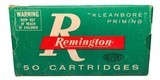 Collectible Ammo: Full Box 50 Cartridges of Remington Automatic TargetMaster 185 GR. Wadcutter REM #6745
