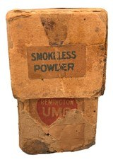 Collectible Ammo: Partial Box 14 Rounds of Remington Union Metallic Cartridges Co .41 Swiss 300 Gn Loaded with Shot for Vetterli Rifle - 6 of 7