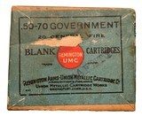 Collectible Ammo: Full Box 20 Cartridges of Remington Union Metallic Cartridge Co .50-70 Government BLANK REM #441 - 2 of 8